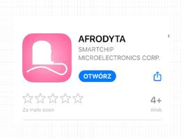test owulacyjny, Monitor płodności Test Owulacyjny na ślinę na smartfon AFRODYTA Smart